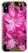 Rhododendron-close Up1 IPhone Case
