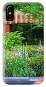 Rhs Chelsea Homebase Urban Retreat Garden IPhone Case