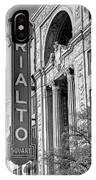Rialto Square Theater IPhone Case