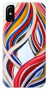 Ribbons Of Love-multicolour IPhone Case