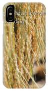 Rice Harvest - Haiku IPhone X Case