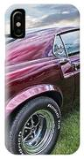 Rich Cherry - '69 Mustang IPhone Case