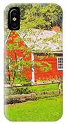 Richard Hunnewell House, Scarborough Maine IPhone Case