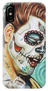Richie Valens Day Of The Dead IPhone Case