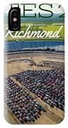 Richmond Rise/shine W/text IPhone Case