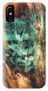 Riddicks World Watercolor Painting IPhone Case