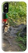Ride Through The Woods #51 IPhone Case