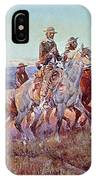 Riders Of The Open Range IPhone Case