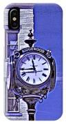Ridgewood Time IPhone Case