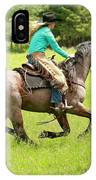 Riding Fast  IPhone Case
