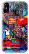 Riding The River IPhone Case