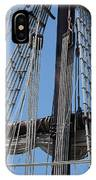 Rigging Aboard The Galeon IPhone Case