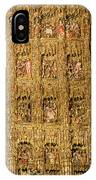 Right Half - The Golden Retablo Mayor - Cathedral Of Seville - Seville Spain IPhone Case