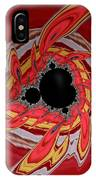 Ring Of Feathers - Abstract IPhone Case