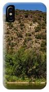 Rio Grande Panorama Pilar New Mexico IPhone Case