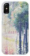 Rio San Trovaso, Venice IPhone Case
