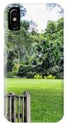 Rip Van Winkle Gardens Louisiana  IPhone Case