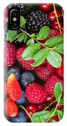 Ripe Of  Fresh Berries IPhone Case