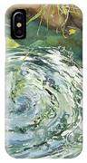 Ripple Pond IPhone Case