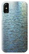 Ripples And Reflections Abstract IPhone Case