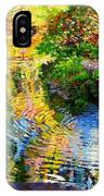Ripples On A Quiet Pond IPhone Case