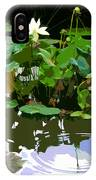 Ripples On The Lotus Pond IPhone Case