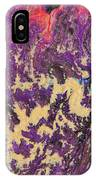 Rising Energy Abstract Painting IPhone X Case