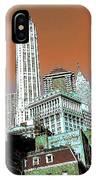 Rising High - New York Wall Street Skyline IPhone Case