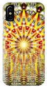 Rising Sun Mandala IPhone Case