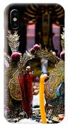 Risning Incense Prayers IPhone Case