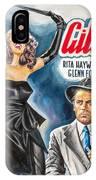 Rita Hayworth Gilda 1946 IPhone Case