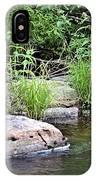 River At Duchesne Falls IPhone X Case
