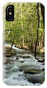 River At Greenbrier IPhone Case