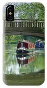 River At Harlow Mill IPhone Case