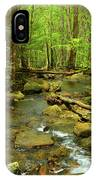 River Crossing On The Maryland Appalachian Trail IPhone Case