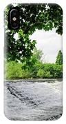 River Derwent Weir - Derby IPhone Case