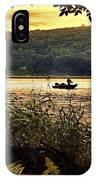River Fishing  IPhone Case
