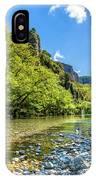 River In Kleidonia Zagora IPhone Case