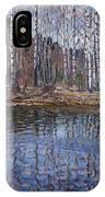 River Landscape Nikolai Petrovich Bogdanov-belsky IPhone Case