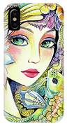 River Nymph IPhone Case