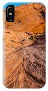 River Of Erosion IPhone Case