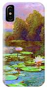 The Wonder Of Water Lilies IPhone Case