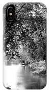 River Passage Through Trees IPhone Case