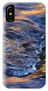 River Rapids At Sunset IPhone Case