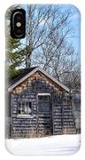 River Shack IPhone Case