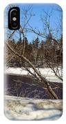 River Through The Branches IPhone Case