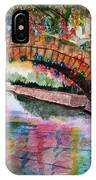 River Walk At Christmas IPhone Case