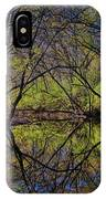 River Walk Reflections IPhone Case