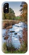 River Wansbeck At Wallington IPhone Case