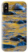 River Water And Rocks IPhone Case